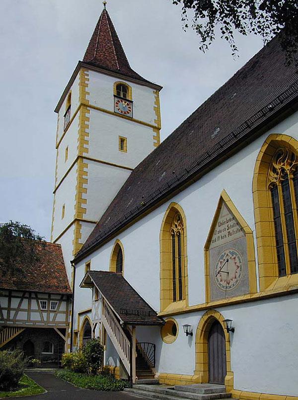 Bild Ev.Kirche Suedseite